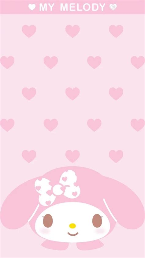 My Background My Melody Wallpaper For Iphone 76 Images