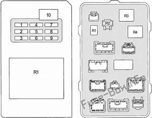 Fuse Box Diagram  U0026gt  Toyota Land Cruiser Prado 90  1996