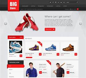 ecommerce website template learnhowtoloseweightnet With e commerce sites templates