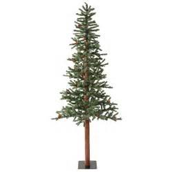 6 Ft Slim Flocked Christmas Tree by Shop Vickerman 6 Ft Pre Lit Alpine Slim Flocked Artificial