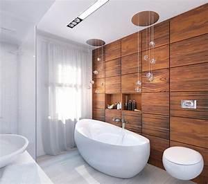 idee deco salle de bain bois 40 espaces cosy et chics qui With deco de salle de bain design