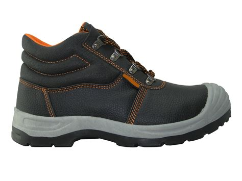 Artificial Leather Pvc Sole Cheap Safety Shoes
