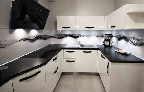 cuisines et bains une cuisine quot black white quot cuisines et bains