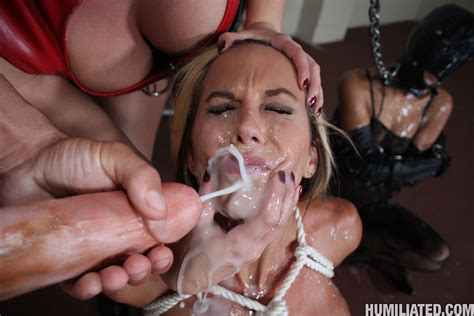 Kaylani – Busty Blonde Whore Gets Blasted With Huge Loads