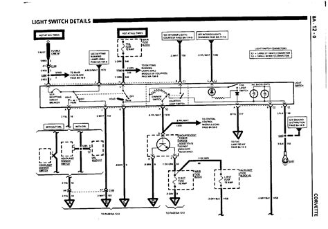 Corvette Dash Wiring Diagram by C4 Fuse Diagram Wiring Library