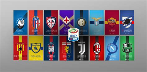 Serie A by Serie A 2017 18 Team Walls Forza27
