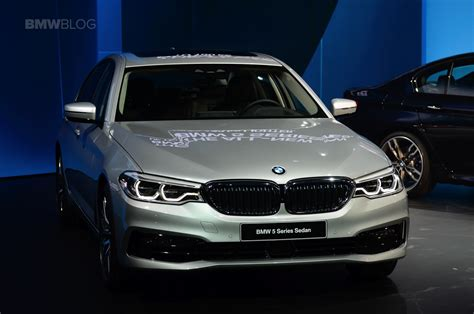 Bmw Detroit by 2017 Detroit Auto Show The All New Bmw 5 Series Sedan