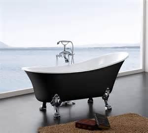 baignoire baignoire sur pieds avec robinetterie mod 232 le