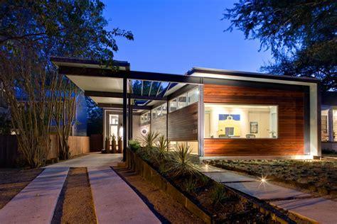 1 Floor Home Design : Stylishly Simple Modern One Story House Design