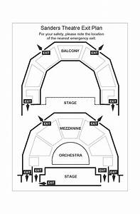 Sanders Theatre Seating Charts