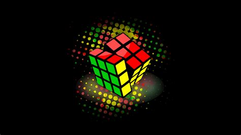 Cool Rubiks Colored Wallpaper Wallpaper