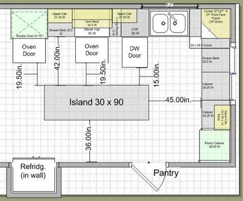 kitchen island sizes woodwork kitchen island blueprints pdf plans