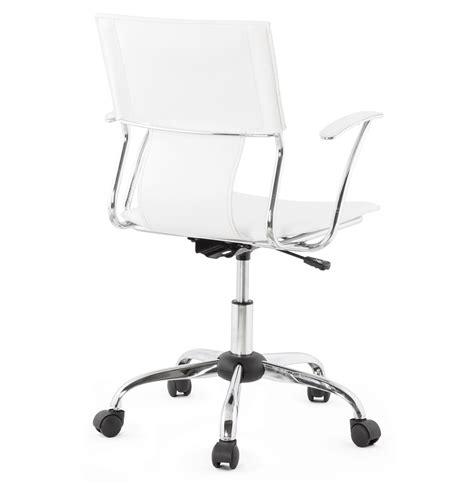 bureau evo fly fauteuil de bureau evo blanc sur roulettes