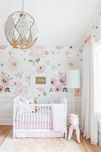 baby girls room 25. Floral Themed Nursery for Girl Baby