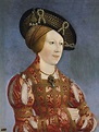 ca. 1520 Anne of Bohemia and Hungary by Hans Maler (Museo ...
