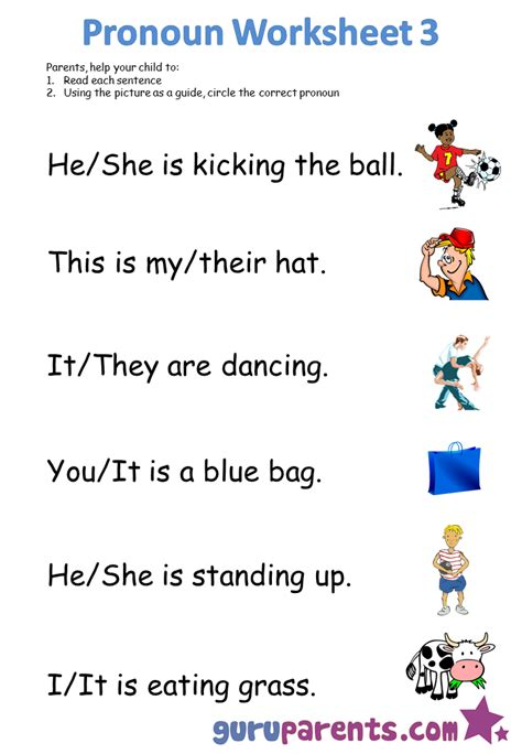 he she it worksheet for grade 1 search