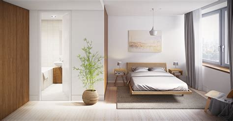 serenely minimalist bedrooms    embrace simple comforts