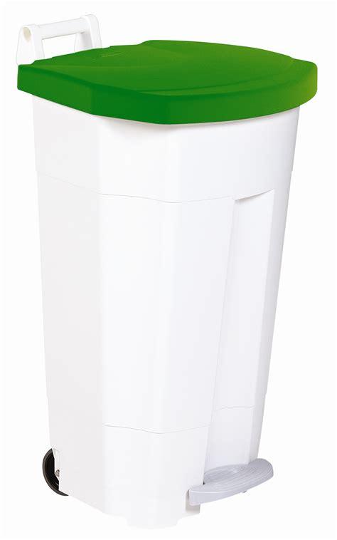 poubelle de cuisine verte poubelle de cuisine rossignol haccp 90 litres vert