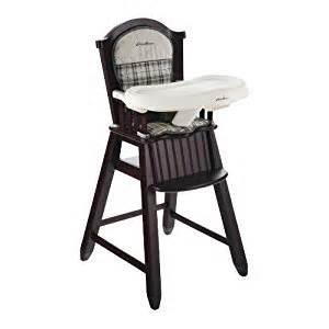 eddie bauer wood high chair stonewood ca baby