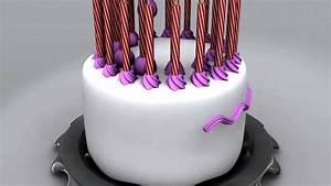 Happy Birthday Cake Animation - YouTube