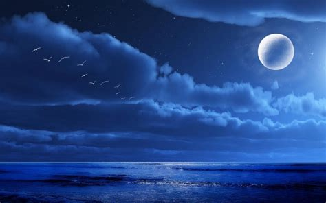 Midnight Background Midnight Sky Hd Midnight Moon Wallpaper Ideas And