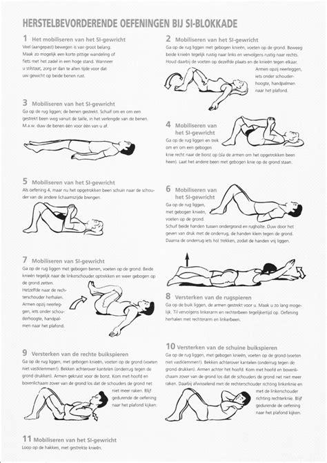oefeningen onderrug versterken