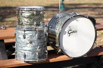 Gretsch Drum Kits Badge Round Grey Boom