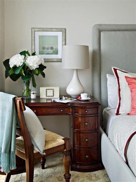desk and vanity combo ideas 10 double duty nightstands hgtv