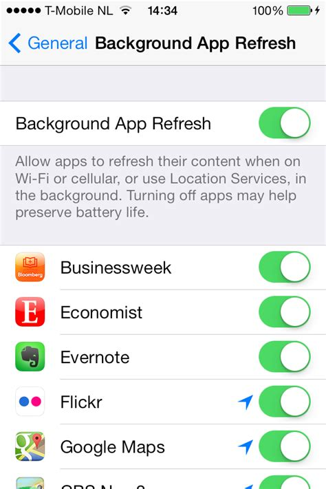 app refresh background ios does exactly apple preferences