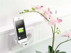 Mobiles Ladegerät Iphone : pearl netzteil wand ladeger t ab iphone 5 mit usb port und smartphone halterung apple ladeger t ~ Orissabook.com Haus und Dekorationen