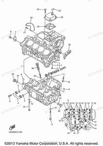 Yamaha Motorcycle 2005 Oem Parts Diagram For Crankcase