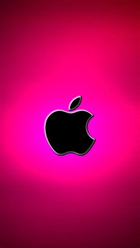 Apple Phone Iphone Cool Wallpapers by 187 Pink 171 Apple Logo Pink Apple Logo