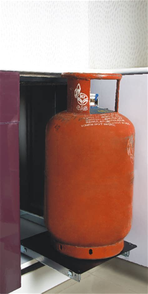 Cylinder Pull Out   Modern Kitchen, Modular Kitchen
