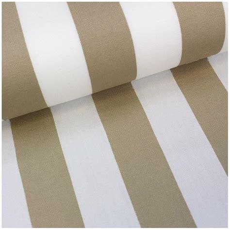 petit bateau siege tissu toile transat playa rayures blanc beige 43cm x