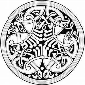 File:Circle Celtic Ornament 2.svg - Wikimedia Commons