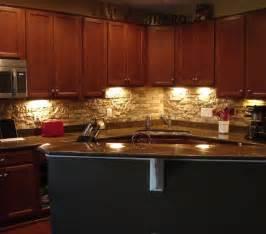 Kitchen Island Cherry Faux Backsplash Great Ideas Backsplash Cabinets And The