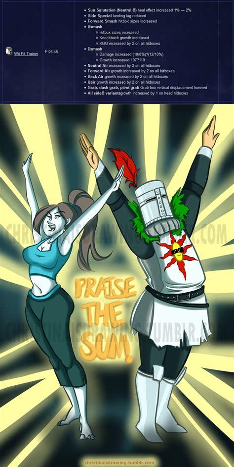 Praise The Sun Meme - salute praise the sun motherfuckers super smash brothers know your meme