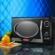 Retro Countertop Microwave Oven, Compact Home Kitchen