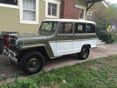 jeep willys wagon for sale 5417814596 1963 willys jeep station wagon
