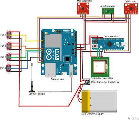 arduino 187 building a quadcopter running on arduino y 250 n