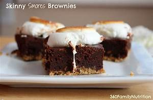 360FamilyNutrition: Skinny Smores Brownies