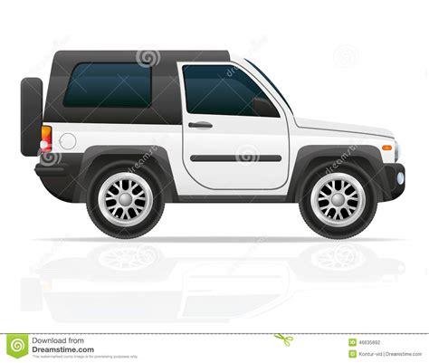 jeep illustration car jeep off road suv vector illustration stock vector