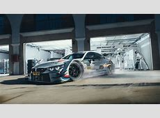 Wallpaper BMW M4 DTM, Pit stop, Hanger, BMW Motorsport, HD