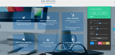 Creator Services top services to create a freelance designer website