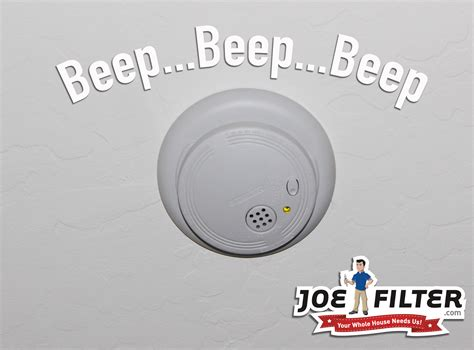 The Joe Filter Blog How To Test Your Smoke Detectors