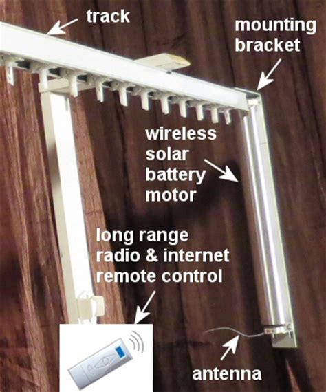 Remote Drapes by Diy Drapery Motor Kit With Remote