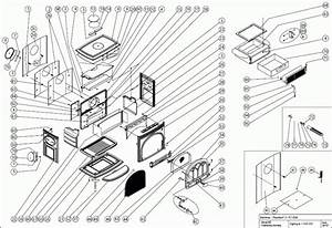 Exploded Diagram For Jotul F3 Multi Fuel Stove