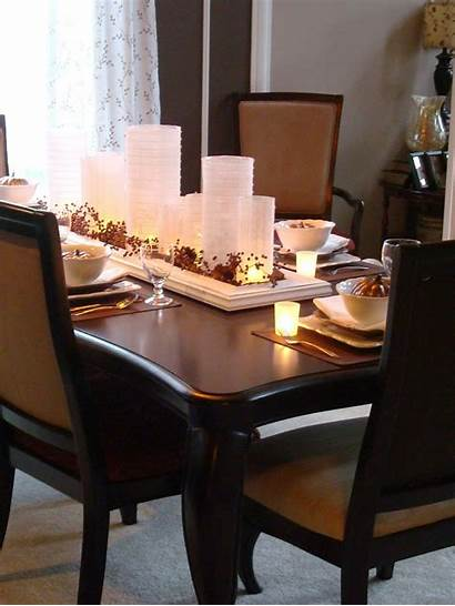 Dining Tables Centerpieces Decor Candle Homesfeed Centrepiece