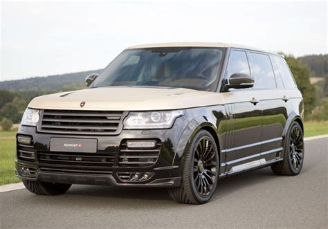 black and gold range rover the most extravagant modified cars by mansouri news