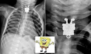 spongebob squarepants   ray  toddler swallows